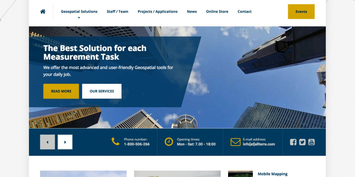 AllTerra Wordpress Site