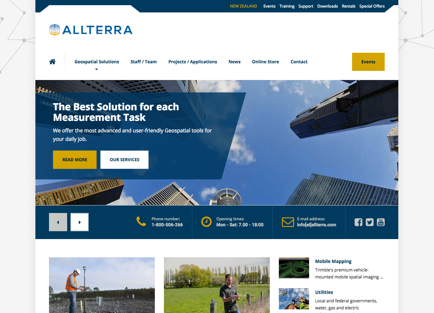AllTerra Wordpress Site
