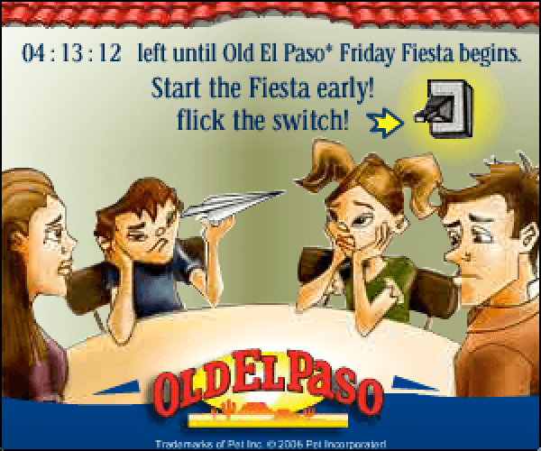 Old El Paso Bored Family